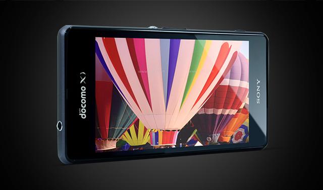 Z1 f sử dụng màn hình 4.3 inch 720p thay vì 5 inch Full HD như Z1