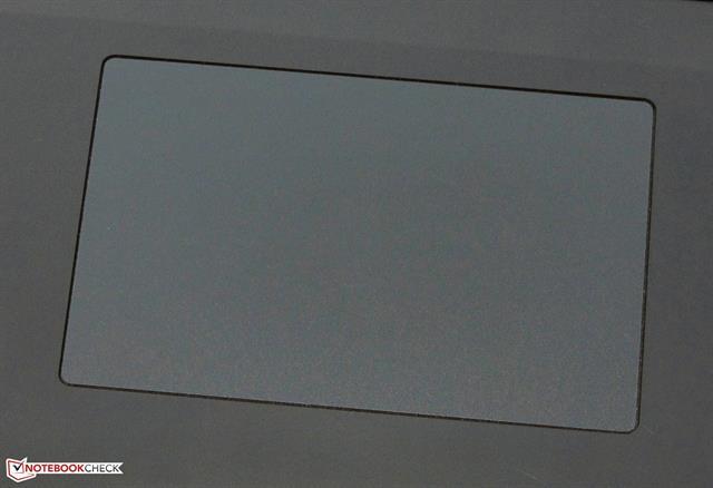Touchpad được trang bị tính năng đa điểm multi-touch ClickPad