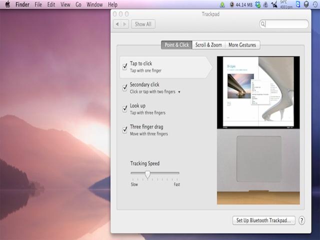 Các thao tác cơ bản trên Mac OS
