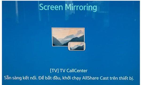 Tiện ích từ công nghệ Screen Mirroring