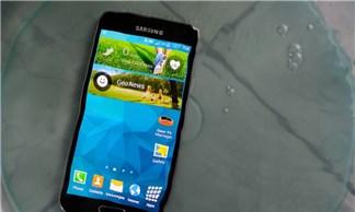 Chi tiết về khả năng chống nước trên Galaxy S5