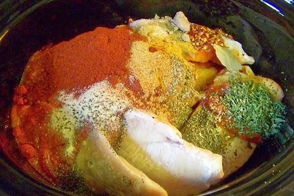Nguyên liệu cà ri gà