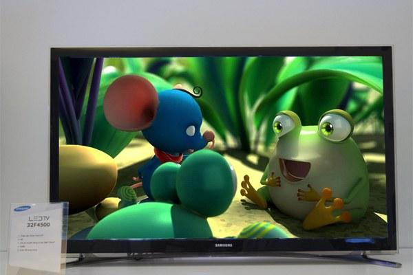 Tivi hiển thị hình ảnh từ phim hoạt hình luôn đẹp và sắc nét