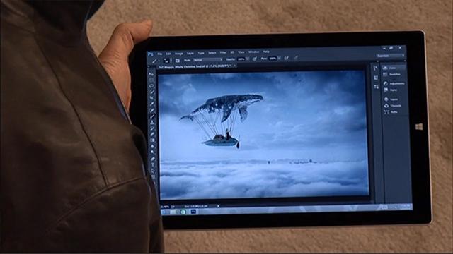 Mọi điều cần biết về Surface Pro 3 photoshop