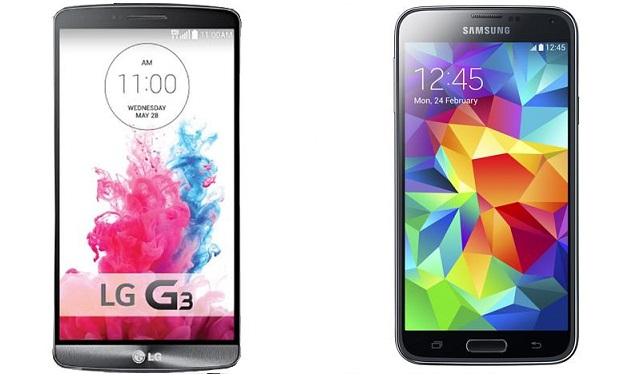 LG G3 có gì hơn so với Samsung Galaxy S5?