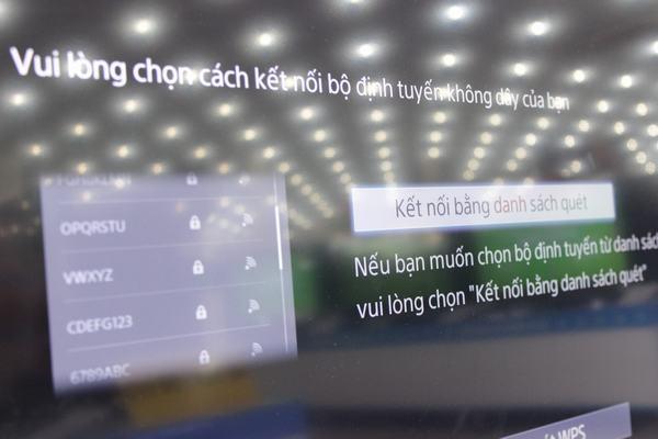 Hướng dẫn kết nối mạng với Tivi Sony 7