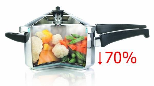 Tiết kiệm 70% thời gian nấu ăn
