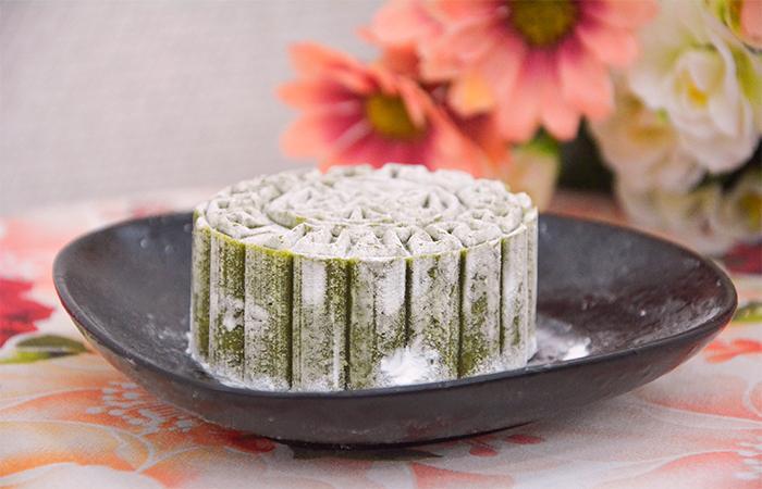 cách làm bánh dẻo vị trà xanh