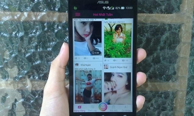 Dùng thử Selfee, ứng dụng