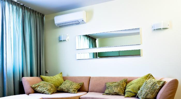 Nên sử dụng máy lạnh vừa phải để nhiệt độ phân bố đều trong phòng