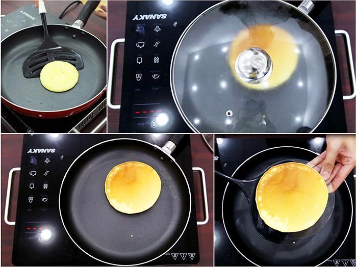 """Làm bánh pancake """"tốc hành"""""""