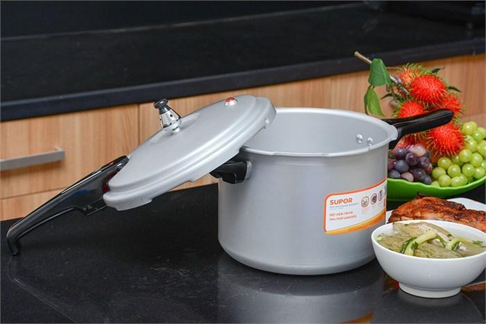 Nồi áp suất cơ Supor yl18fb dùng nấu trên bếp gas