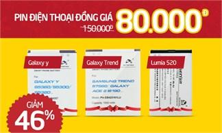Giảm đến 46% - 3 model Pin Hot: Lumia 520, Galaxy Trend, Galaxy Y chỉ còn 80.000