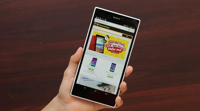 Tham khảo cấu hình chi tiết và đặt mua Sony Xperia Z Ultra tại đây