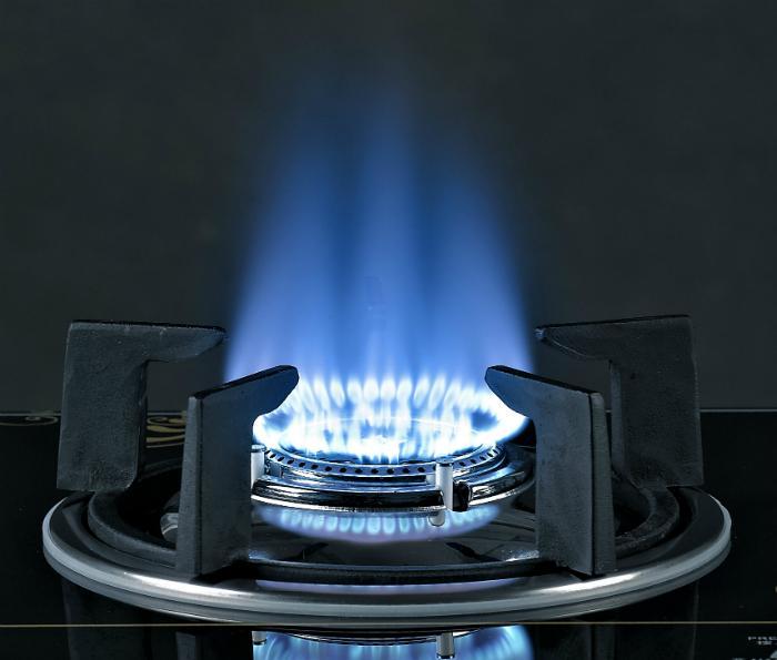 Điều chỉnh ngọn lửa vừa đủ để nấu ăn