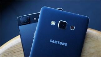 So sánh Galaxy A7 và OPPO R5, phần 2 - máy ảnh, pin, màn hình và hiệu năng