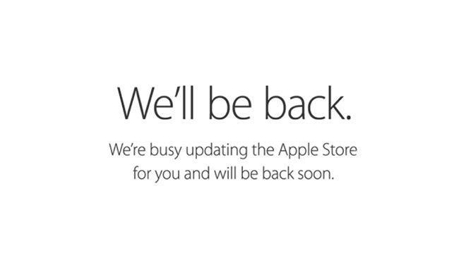 Trang web Apple Store bất ngờ đóng cửa