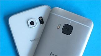 [So sánh] Galaxy S6 vs One M9, phần 1