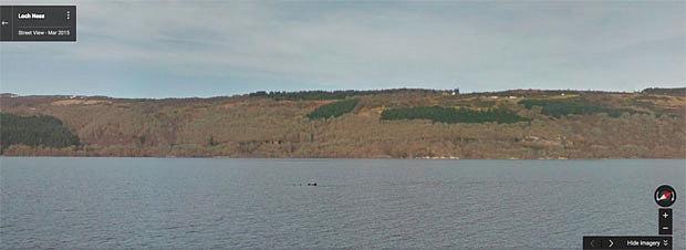 Google vừa phát hiện ra quái vật hồ Loch Ness? Huyền thoại sắp được phá giải?