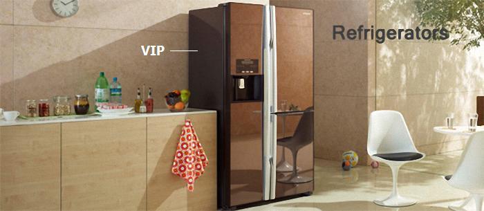 Tấm cách nhiệt chân không VIP được thiết kế trong các vách bên của tủ