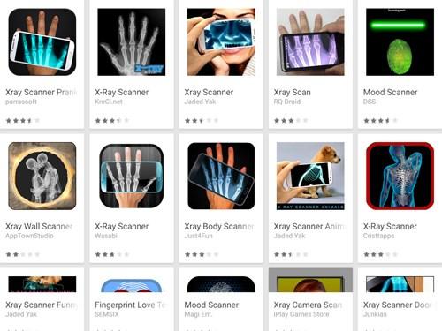 Các ứng dụng chụp X-quang (X-Ray scanners)
