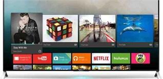 Các tính năng thông minh trên Android tivi Sony 2015