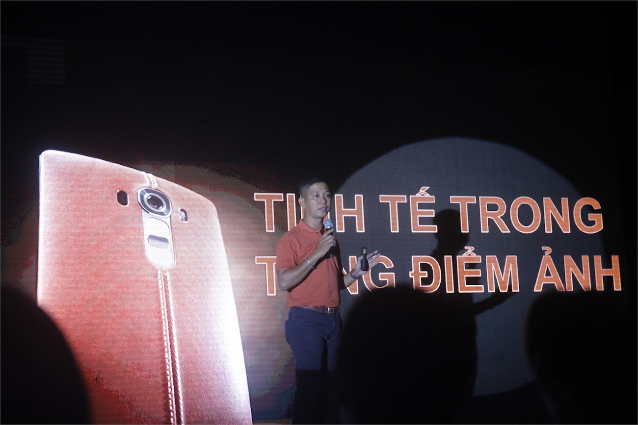 Nhiếp ảnh gia Thanh Tùng nói về camera trên LG G4