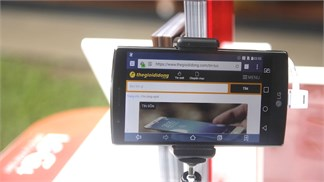 Người yêu công nghệ ở TP. Hồ Chí Minh náo nức trải nghiệm LG G4