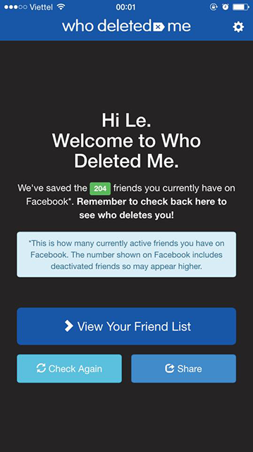 Who Deleted Me