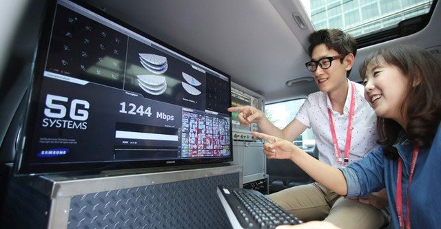 5G - khi mạng di động không còn thua kém wifi 7