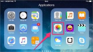Những tính năng lợi hại của ứng dụng Ảnh (Photos) trên iOS 8, bạn đã biết hết?