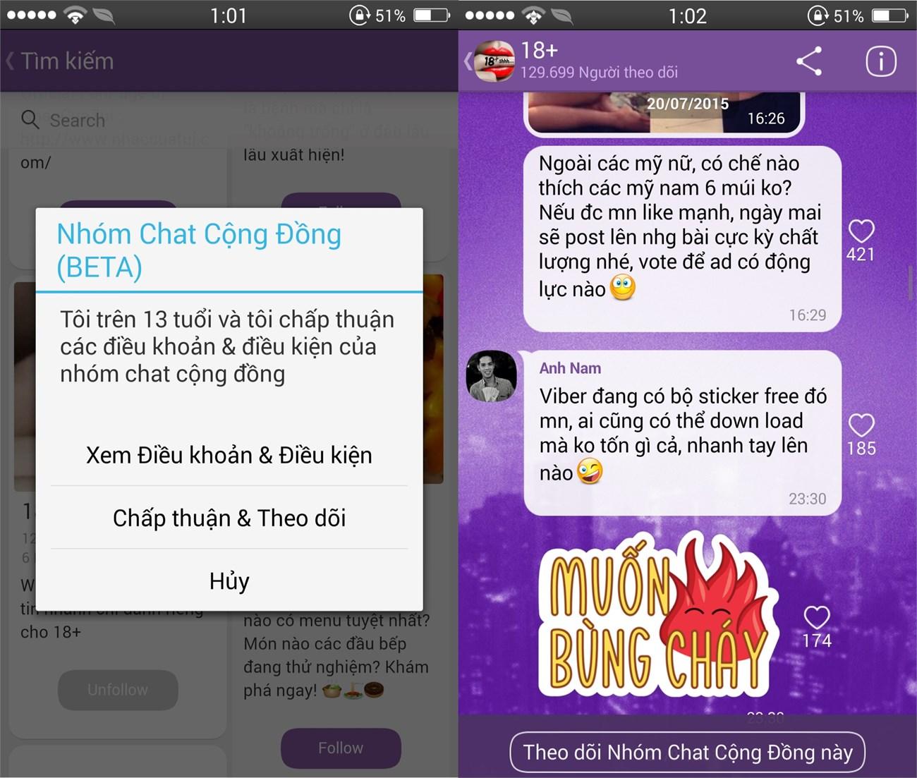 Cách sử dụng Public Chats trên Viber 3