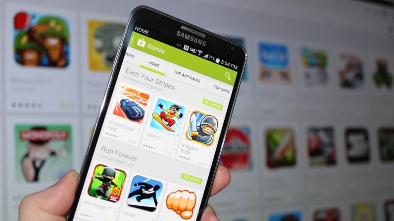 Tìm hiểu giao diện Google Play Store