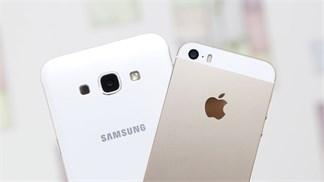 So găng iPhone 5S vs Galaxy A8: Chọn flagship năm 2013 hay tầm trung 2015?
