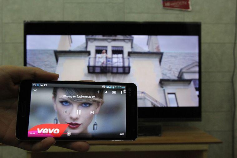 Video đã được chia sẻ lên tivi