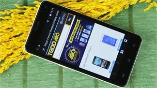 Smartphone giá rẻ hàng Việt với chip lõi tứ, RAM 1GB lên kệ Thegioididong