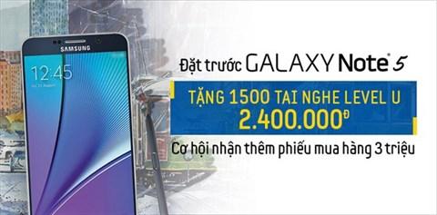 Thư xin lỗi 150 KH may mắn nhận được phiếu mua hàng 3 triệu từ Samsung Galaxy Note 5
