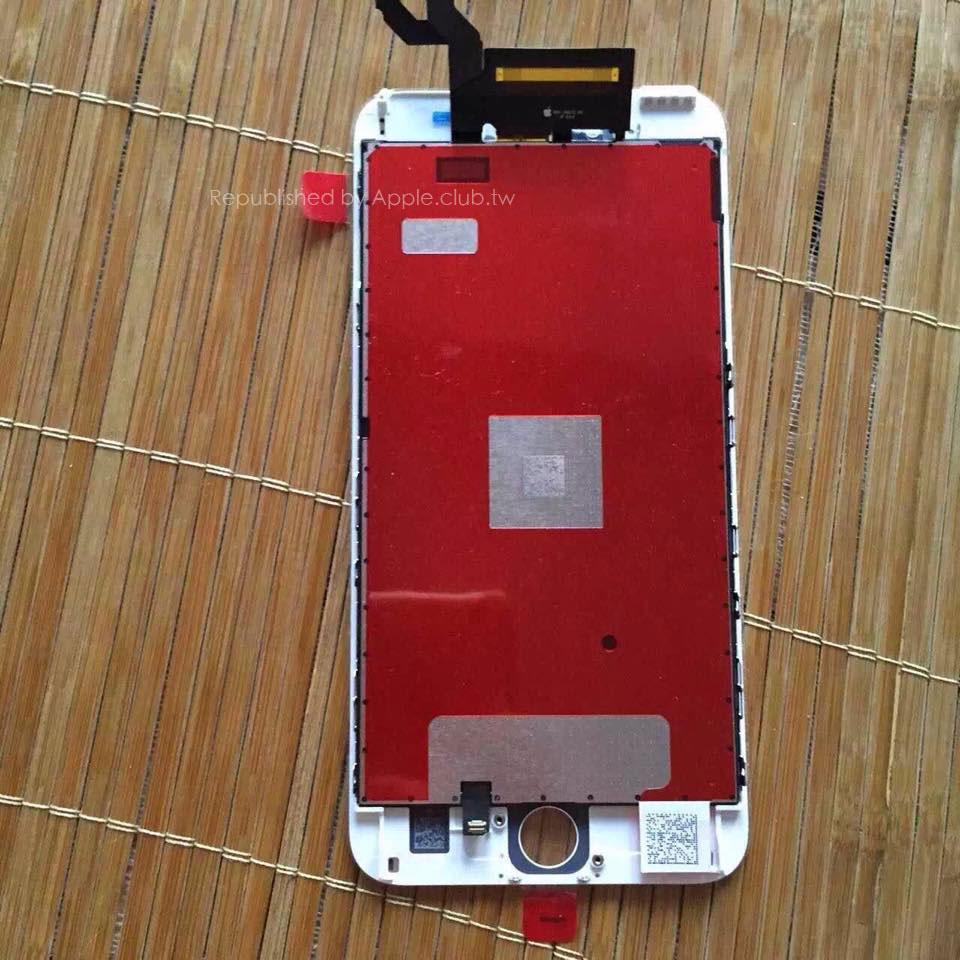 Phía trong mặt trước iPhone 6s Plus