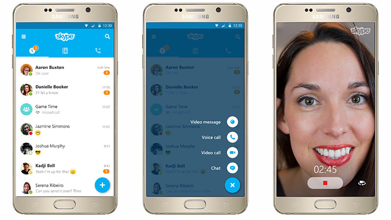 Skype cập nhật phiên bản 6.0 dành cho Android