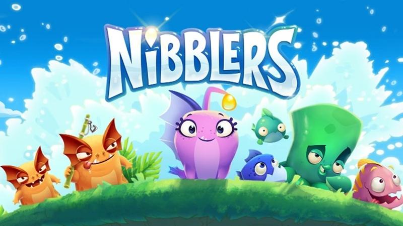 Nibblers: Xếp hình cùng những chú cá đáng yêu