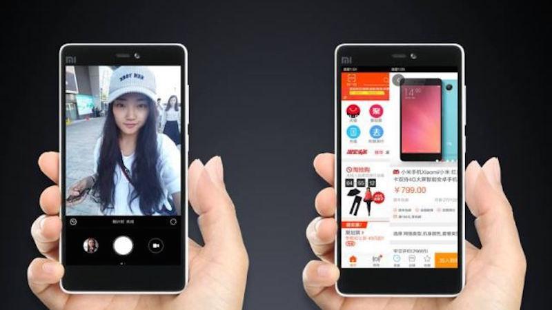 Xiaomi Mi 4c có công nghệ cảm ứng Edge Tap khá độc đáo