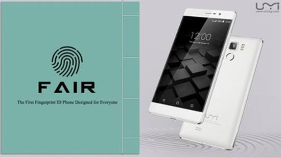 UMi Fair có công nghệ nhận dạng vân tay