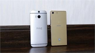 So găng Xperia M5 Dual vs HTC One M8 Eye: Cuộc chiến 'ngang sức ngang tài'