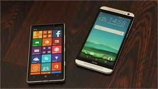 Nokia Lumia 930 vs HTC One E9 Dual: Chọn thiết kế đẹp hay cấu hình mạnh?