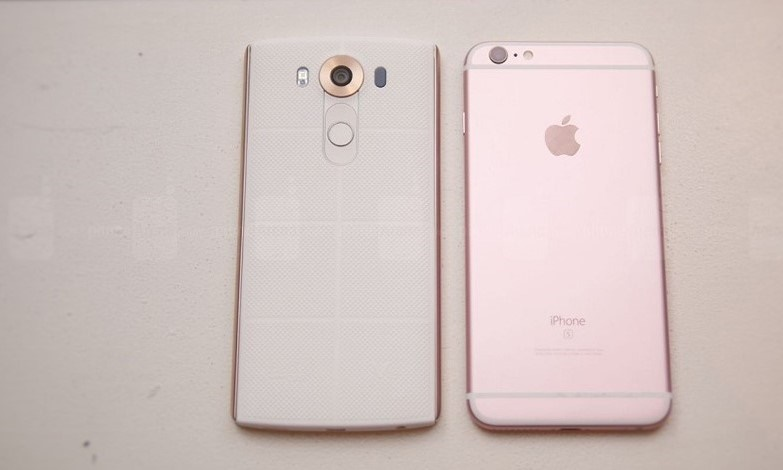 LG V10 vs iPhone 6s Plus