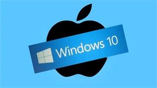 Apple chọc tức Microsoft bằng việc thay đổi logo Windows 10 trên iCloud