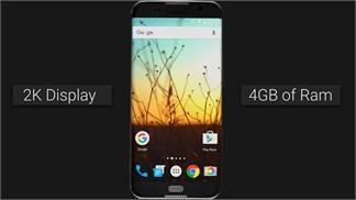 Chiêm ngưỡng mẫu Galaxy S7 thiết kế không viền, loa ngoài nổi bật