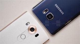 So sánh Galaxy Note 5 vs LG V10: Bộ đôi phablet 'đỉnh' tranh tài!