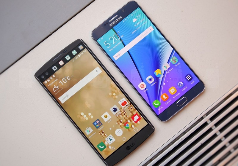 Note 5 vs LG V10