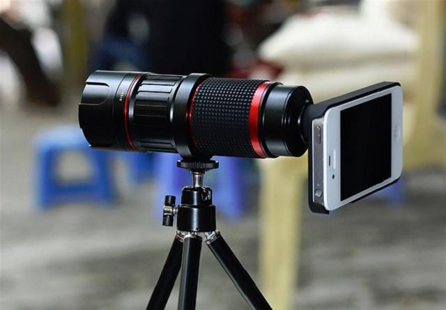 ống lens cho điện thoại